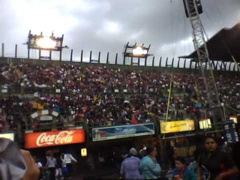 La Ola en el Foro sol-Justin Bieber Mexico 1 Oct.