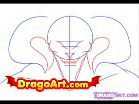 How To Draw The Devil Step By Step Youtube
