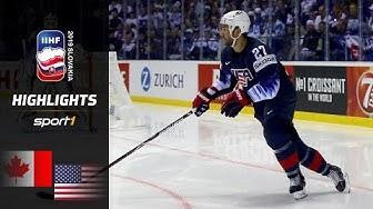 Kanada souverän: Kanada – USA 3:0 | Highlights | IIHF Eishockey-WM 2019 | SPORT1