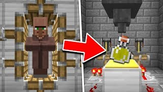 HOW TO MAKE SECRET POTIONS IN MINECRAFT!