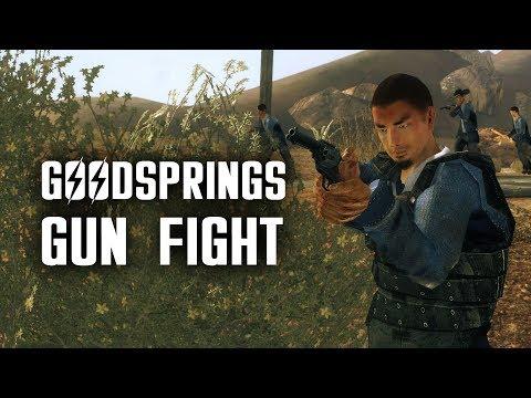 Powder Gangers 1: Goodsprings Gun Fight - Fallout New Vegas Lore