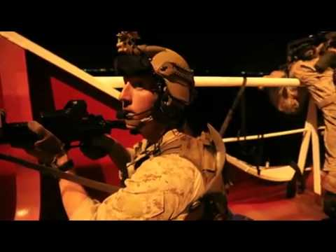 US Marines & Dutch Armed forces training onboard FRISC