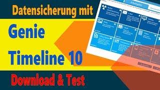 Backup erstellen mit Genie Timeline 10: Download & Test