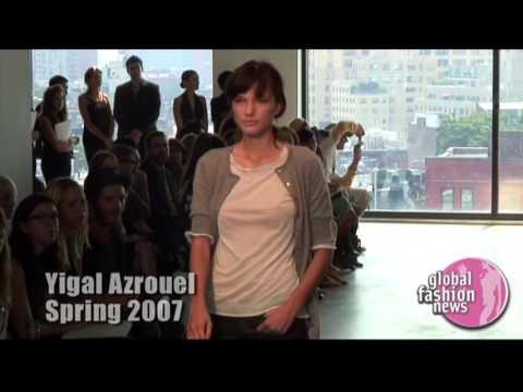 Yigal Azrouël | Spring / Summer 2007 Women's Interview | Global Fashion News