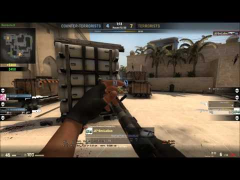 CS.GO[JE*SmiLoDon] - Lucky That I Survived! AK47!