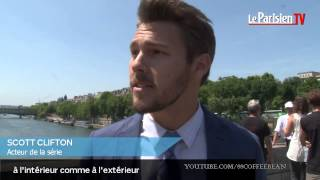 B&B PARIS INTERVIEW & BEHIND THE SCENES Ivy Pushed + Liam Bold Beautiful Scott Clifton Promo Preview