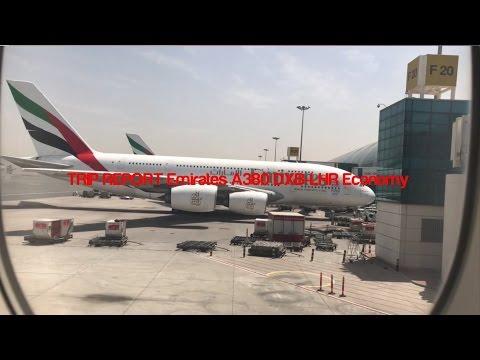 TRIP REPORT Emirates A380 DXB-LHR Economy
