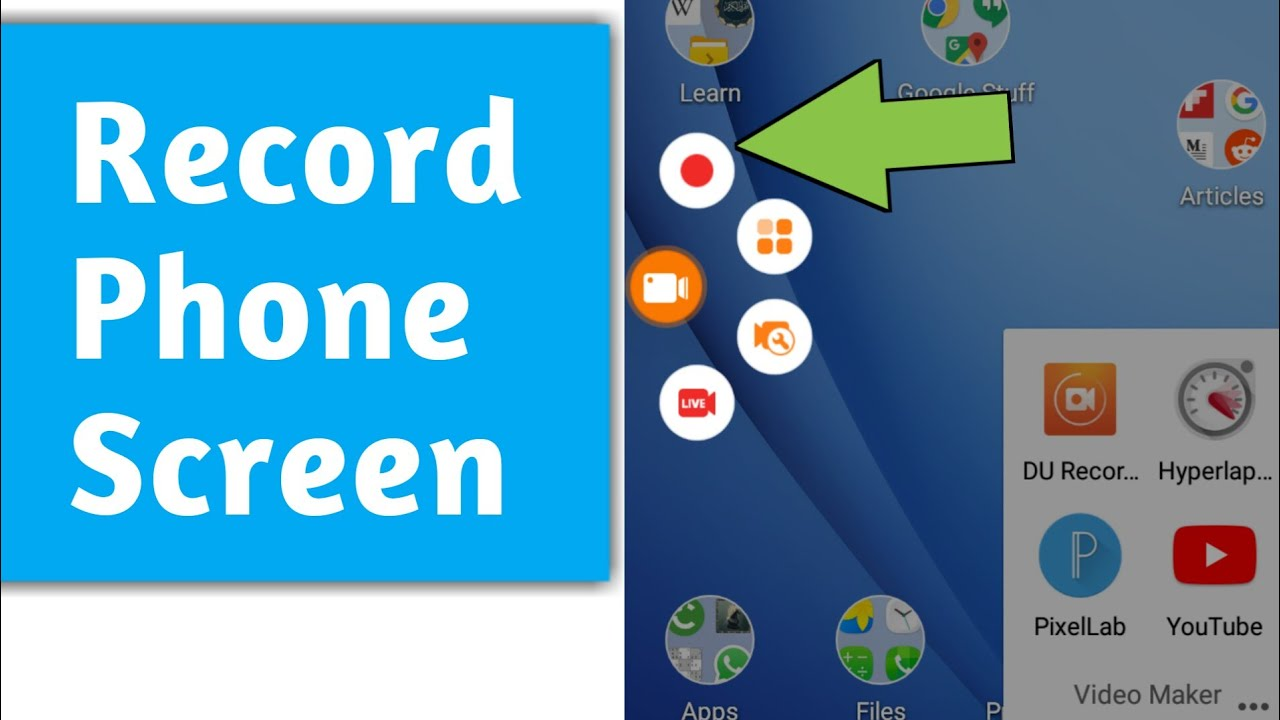 How to Record your Phone Screen for Free (2019)