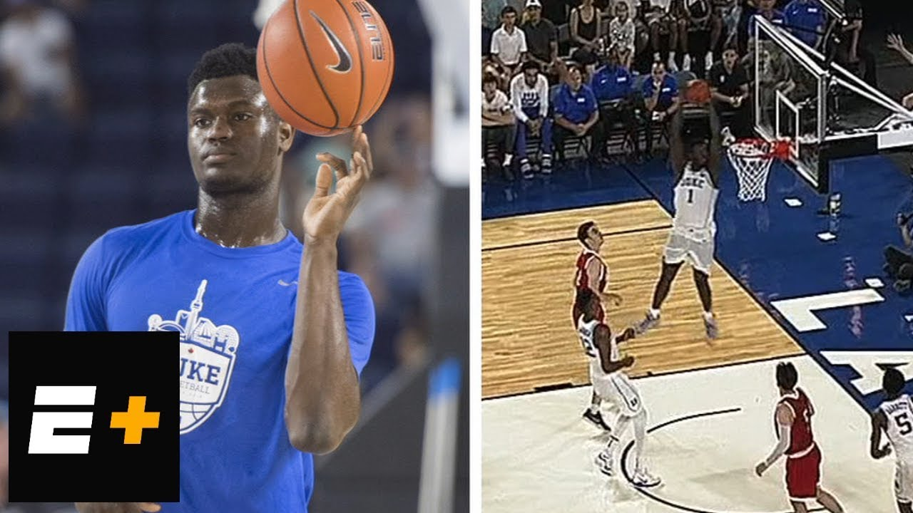 5ddc8af0ae6 Zion Williamson highlights Duke vs. McGill [36 points, 14 rebounds] | ESPN