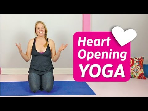Heart Opening Yoga Practice with Music ♥ Yoga to Open Your Heart ♥ Heart Chakra Love Flow | 27 Min