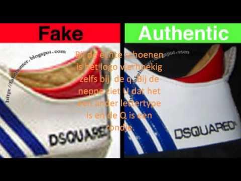 Dsquared Schoenen Fake