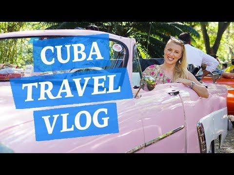 CUBA VLOG 1 ♡ HAVANA & CIENFUEGOS ♡ CARS, MUSIC, TIPS