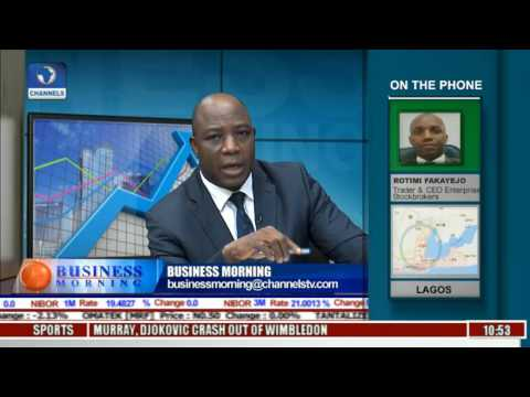Business Morning: Trading The New Cycle On Nigeria Equities Market