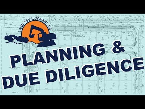 Land Development 101 - Planning & Due Diligence