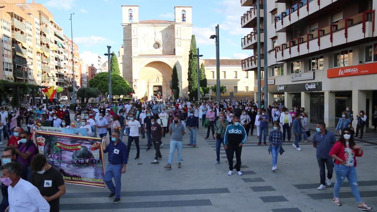 manifestacion taurina en Guadalajara