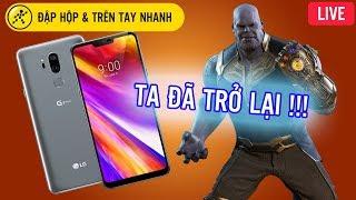 Mở hộp LG G7+ThinQ đầu tiên tại Việt Nam
