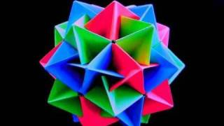 Repeat youtube video How to make an Origami Twinboat Icosahedron