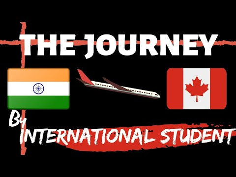 India To Canada | Journey Vlog | International Student | January Intake