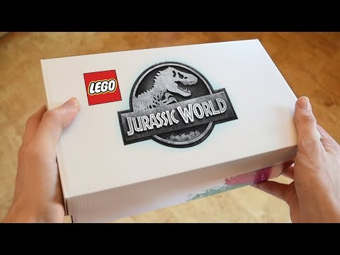 Download Youtube: EXCLUSIVE JURASSIC WORLD FALLEN KINGDOM LEGOS!! FIRST LOOK!