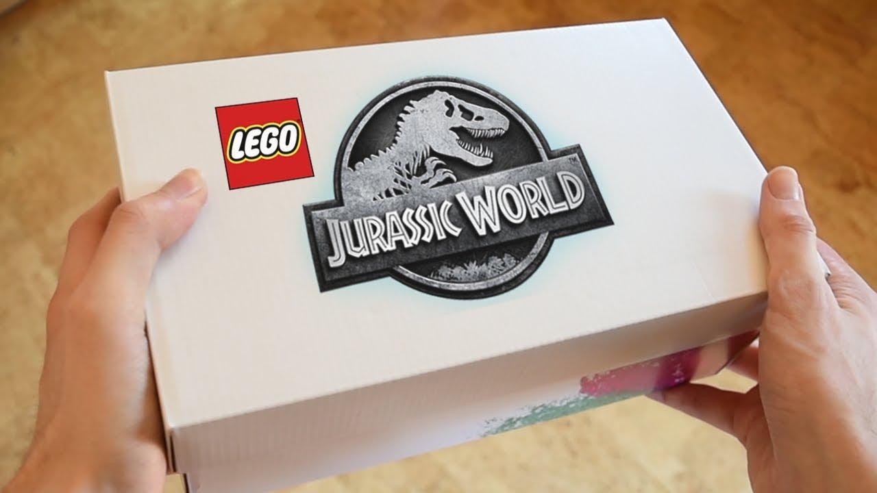 EXCLUSIVE JURASSIC WORLD FALLEN KINGDOM LEGOS!! FIRST LOOK!