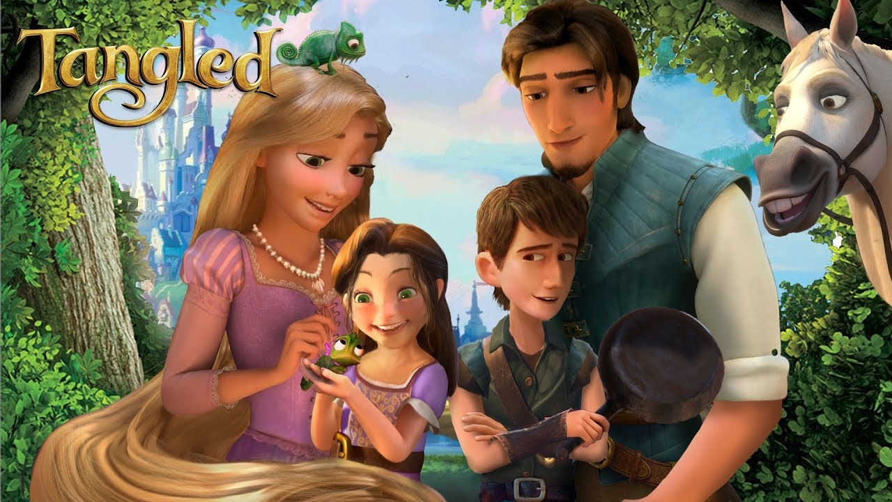 Download Tangled - Rapunzel and Eugene have a daughter and a son! The Royal Family of Corona 💜☀️ Alice Edit!