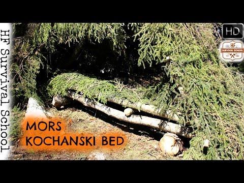 Building A Bushcraft Basecamp - Part 2 - Mors Kochanski Bed