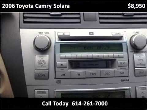 2006 toyota camry solara used cars columbus oh youtube. Black Bedroom Furniture Sets. Home Design Ideas