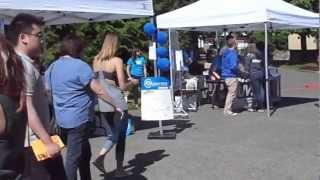 University of Victoria (UVIC) student residence check-in 2012-09-02