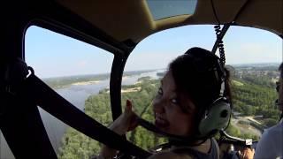Lot widokowy helikopterem dla 6 osób – Warszawa video