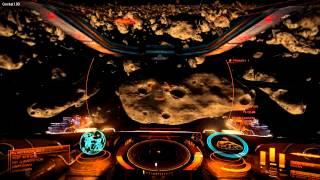 Elite: Dangerous Beta Gameplay On AMD R9 270X - Exploring An Asteroid Belt
