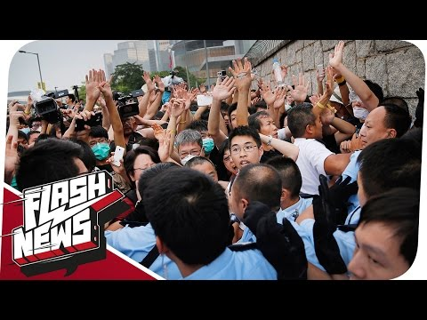Occupy Hongkong und Google streicht Teaser! - FLASH NEWS