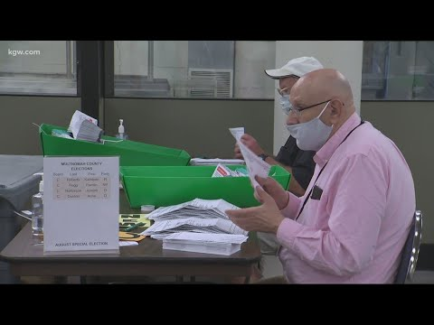 How does Oregon's mail-in voting work?