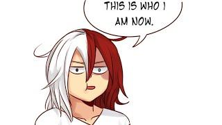 Todoroki's Sasuke Phase (Funny My Hero Academia Comic Dub)