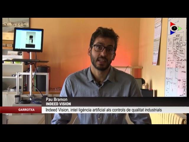 Indeep Vision participa als premis 100x100 emprenedors