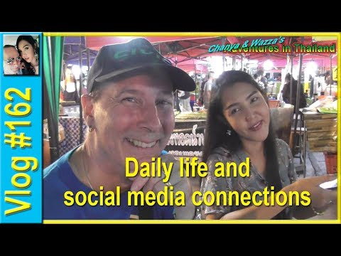 Vlog 162 - Daily life and social media connections