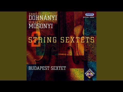 Mihály MOSONYI: Sextet in C minor II. Adagio