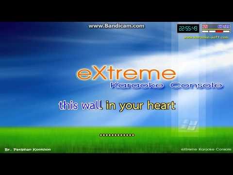 wall in you heart karaoke