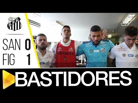 Santos 0 x 1 Figueirense | BASTIDORES | Brasileirão (28/08/16)
