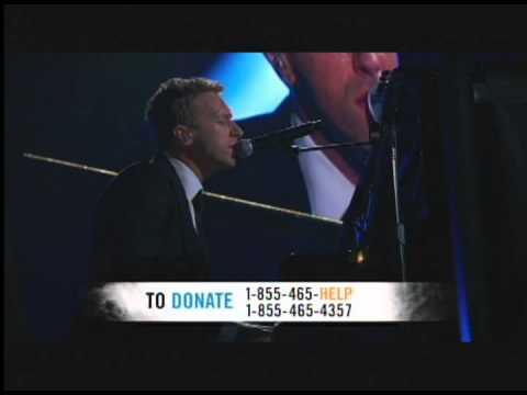 Chris Martin/Coldplay Us Against The World 121212concert Hurricane Sandy