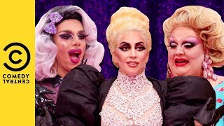 Lady Gaga's Emotional Entrance | RuPaul's Drag Race