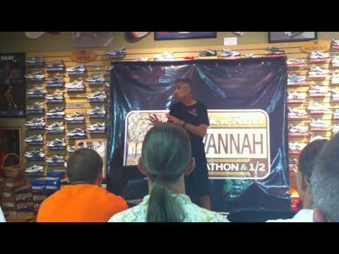 Frank Shorter: Q & A at Fleet Feet Savannah