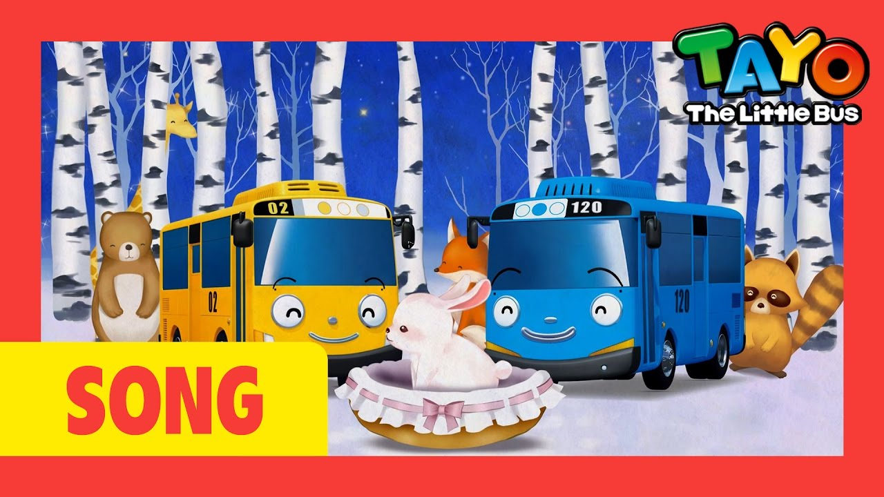 Tayo Song Rock A Bye Baby L Nursery Rhymes L Tayo The Little Bus