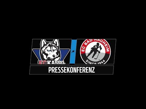 Pressekonferenz 45. Spieltag | Kassel Huskies vs. EC Bad Nauheim