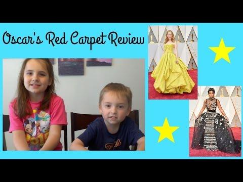 Morgan and Cainan's Oscars Red Carpet Review!