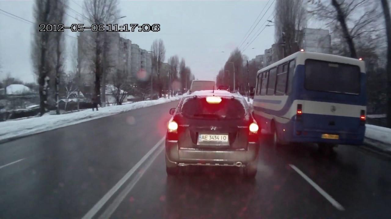 Идиот на дороге. Обиженный торопыга