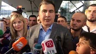 Саакашвили благодарит Гордона