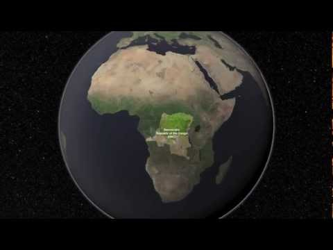 Using Landsat to Track Wildlife in the Congo | NASA Satellite AWF Space Science HD