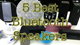 2018 BEST BLUETOOTH SPEAKERS UNDER $60