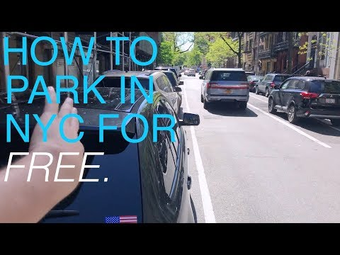 How to Park in New York For Free.