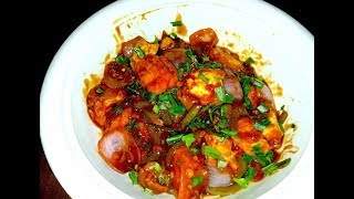 Easy & Quick CHILLI PANEER DRY indo-Chinese Starter Recipe